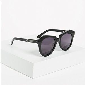 Karen Walker Number One Sunglasses - Black